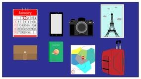 Cepillado del viaje fotos de archivo libres de regalías