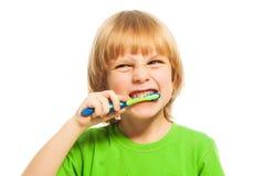 Cepille sus dientes Fotografía de archivo