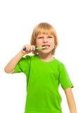 Cepille sus dientes diarios Fotos de archivo