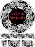 Cepillo céltico para el marco Fotos de archivo