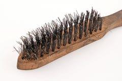 Cepillo de alambre Foto de archivo