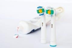 Cepillo de dientes Imagen de archivo libre de regalías