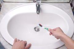 Cepillo de dientes 3 Foto de archivo libre de regalías