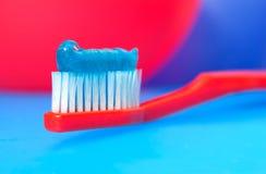 Cepillo de dientes Foto de archivo libre de regalías