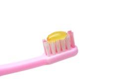 Cepillo de dientes del niño Imagen de archivo