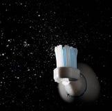 Cepillo de dientes eléctrico imagenes de archivo