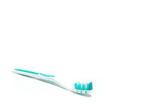 Cepillo de dientes sin la crema dental #1 foto de archivo libre de regalías