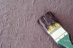 Cepillo de la pared Fotografía de archivo libre de regalías
