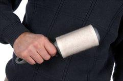 Cepillo de la pelusa Imagen de archivo libre de regalías