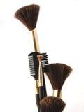Cepillo de los cosméticos fotografía de archivo libre de regalías
