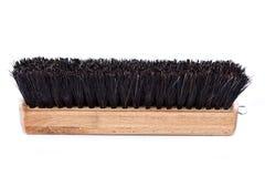 Cepillo de madera del zapato Fotografía de archivo