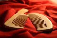 Cepillo de pelo Imagen de archivo libre de regalías
