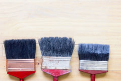 Cepillo de pintura Fotos de archivo libres de regalías