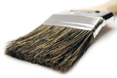 Cepillo de pintura (visión cercana) Imagen de archivo libre de regalías