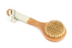 Cepillo del baño Fotografía de archivo
