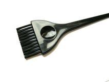 Cepillo del colorante de pelo Foto de archivo libre de regalías