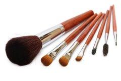 Cepillo del maquillaje Fotos de archivo libres de regalías