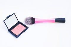 Cepillo del maquillaje Foto de archivo