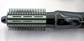 Cepillo del styler de Hairdryer Imagen de archivo libre de regalías