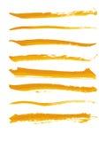 Cepillo del vector Fotografía de archivo