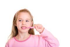 Cepillo dental Foto de archivo libre de regalías