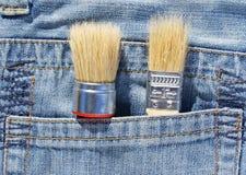 Cepillo en bolsillo Fotos de archivo libres de regalías