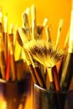 Cepillo en tarro foto de archivo