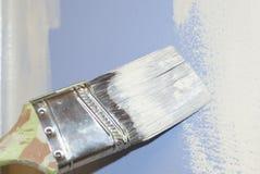 Cepillo funcionando Imagenes de archivo