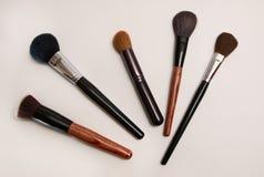 Cepillo grueso del maquillaje Imágenes de archivo libres de regalías