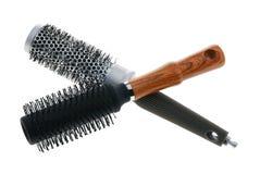 Cepillo para el pelo dos Fotos de archivo