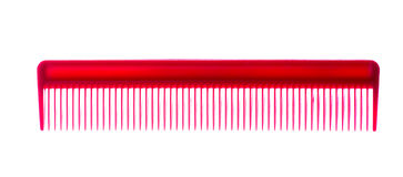 Cepillo para el pelo verde aislado en el fondo blanco Fotografía de archivo libre de regalías
