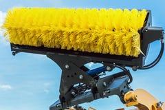 Cepillo para la calle que limpia técnica de la cosecha de la ha Fotografía de archivo