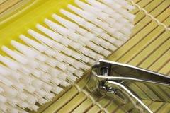 Cepillo para las uñas Imagen de archivo libre de regalías