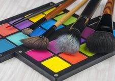 Cepillo profesional del maquillaje Imágenes de archivo libres de regalías