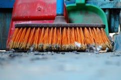Cepillo sucio. imágenes de archivo libres de regalías