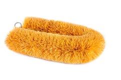 Cepillo tradicional hecho de cáscara del coco Imagen de archivo