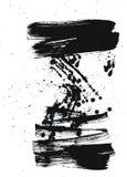Cepillo y gotas Imagen de archivo