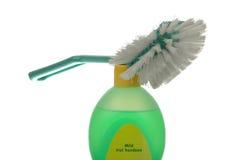 Cepillo y jabón Fotos de archivo