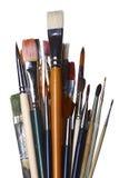 Cepillos Imagen de archivo libre de regalías