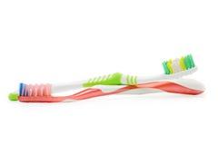 Cepillos de dientes Fotos de archivo
