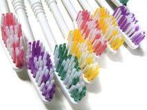 Cepillos de dientes fotos de archivo libres de regalías
