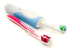 Cepillos de dientes Fotografía de archivo