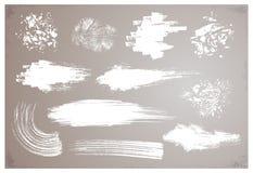 Cepillos del Grunge Fotos de archivo libres de regalías