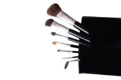 Cepillos del maquillaje Fotografía de archivo libre de regalías