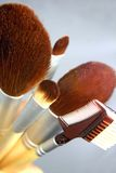 Cepillos del maquillaje Foto de archivo