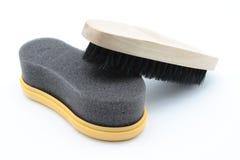 Cepillos del zapato Foto de archivo