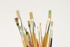 Cepillos para dibujar fotografía de archivo