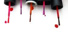 Cepillos para las uñas Imagen de archivo libre de regalías