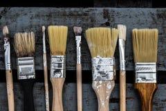 Cepillos para pintar Fotografía de archivo