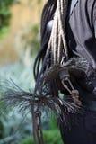 Cepillos y euipment de un barrido de chimenea Fotografía de archivo